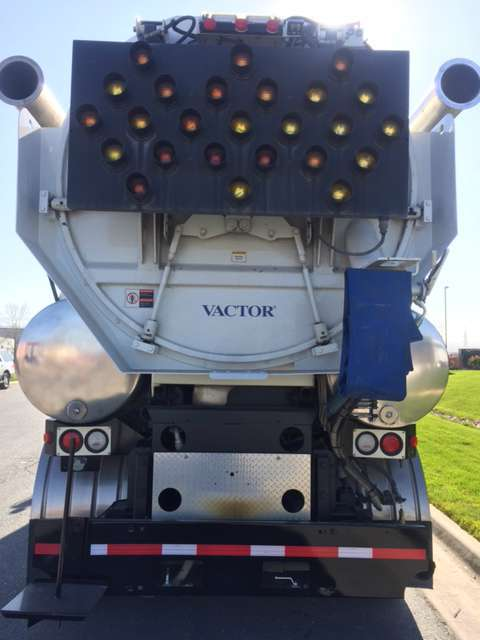 2006 Vactor 2110 Combination Sewer Cleaner - Pd  Tanker Trailer