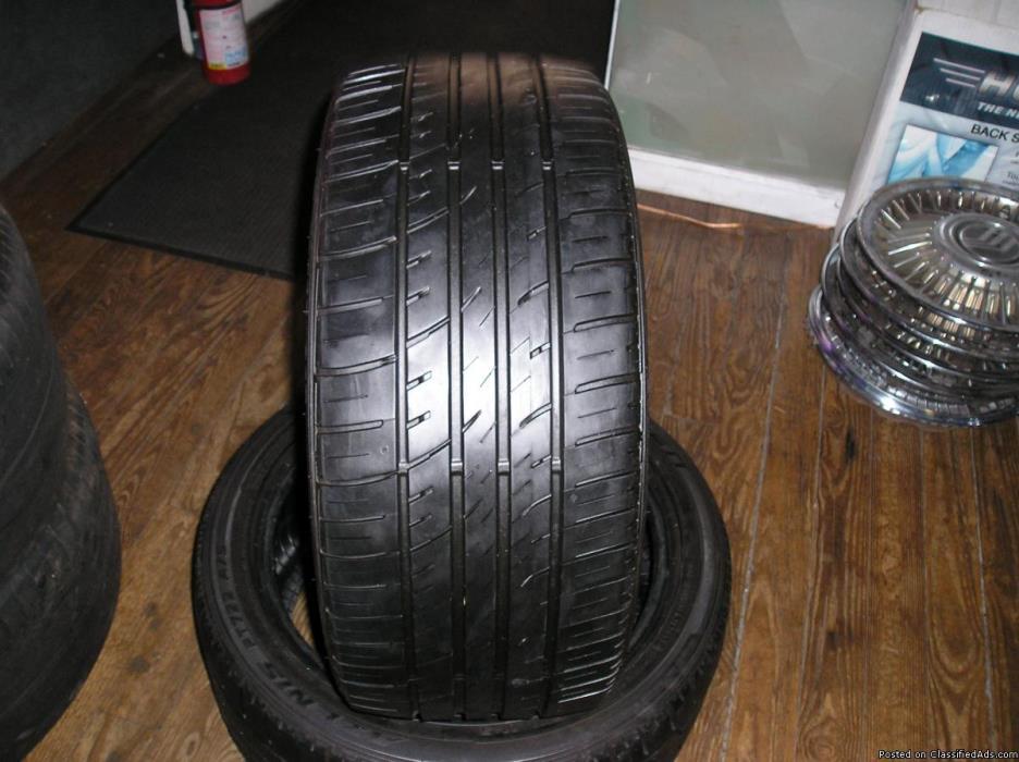4 17 inch falken tires