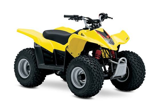 2017 Suzuki QUADSPORT Z50 CHAMPION YELLOW