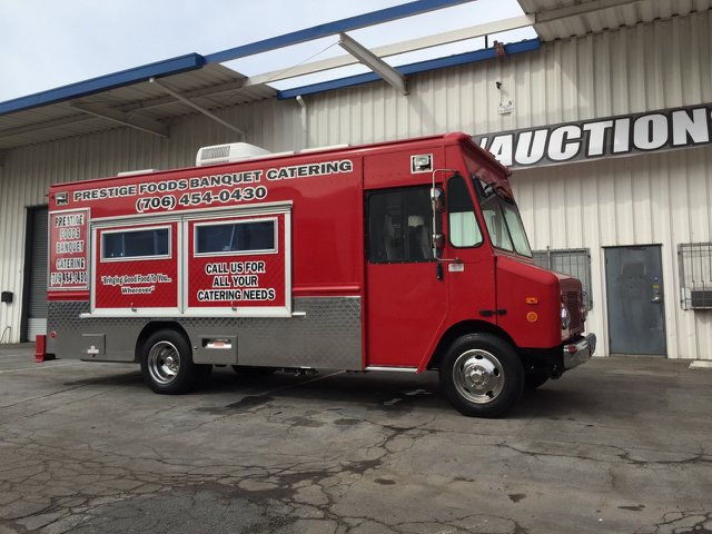 2005 Workhorse Route Star Step Van Food Truck