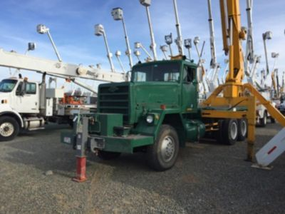 1980 Am General 6x6  Crane Truck