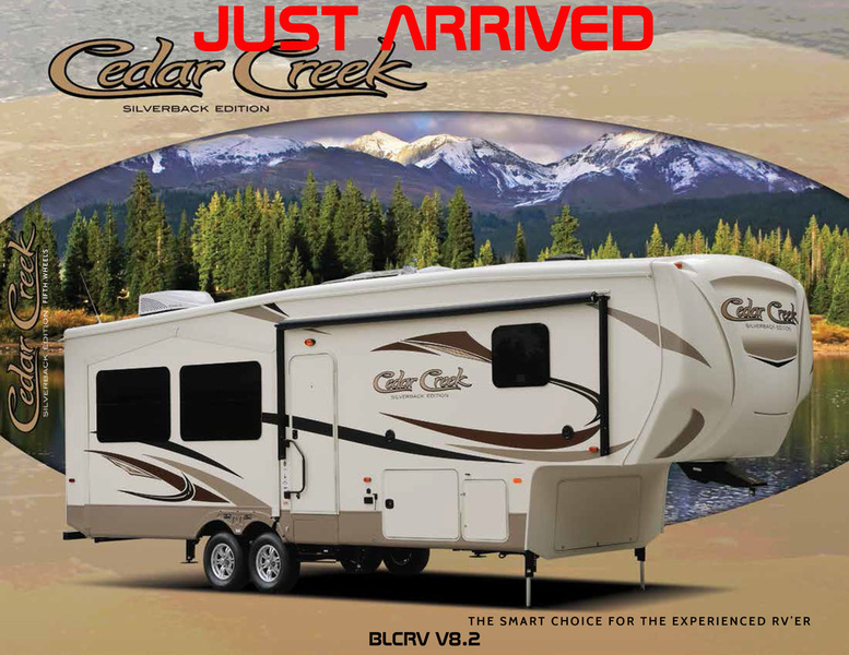 2017 Forest River CEDAR CREEK SILVERBACK 29RE