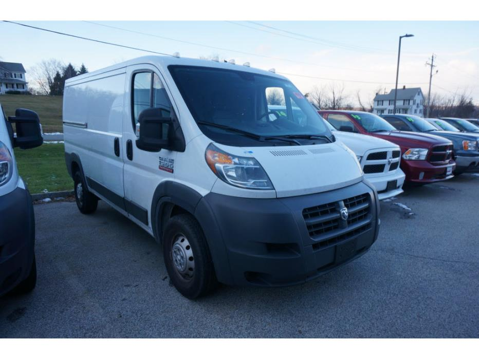 2016 Ram Promaster Cargo 1500 136 Wb  Cargo Van