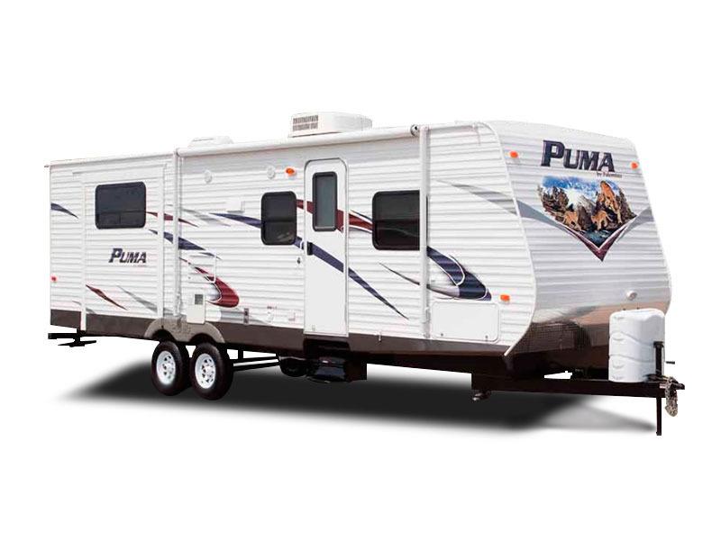 2011 Palomino Puma Travel Trailer 29-DSRE