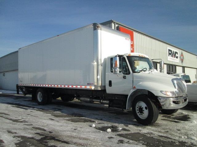 2017 International Durastar 4300  Box Truck - Straight Truck