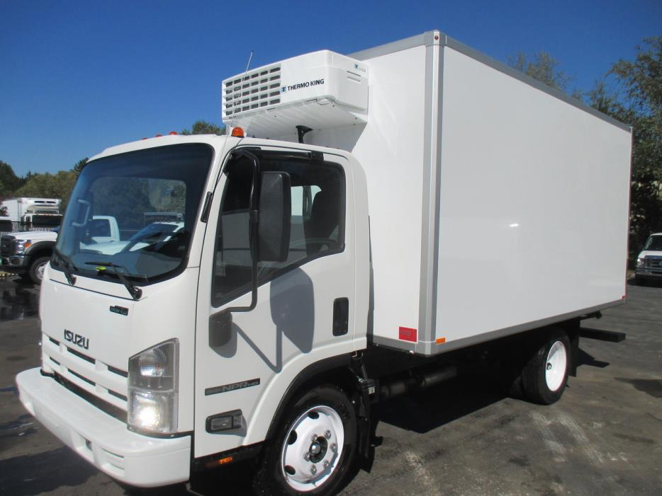 2016 Isuzu Npr Hd Refrigerated Truck