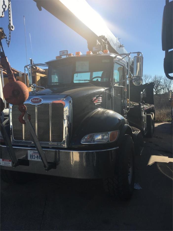 2012 Peterbilt 348  Crane Truck