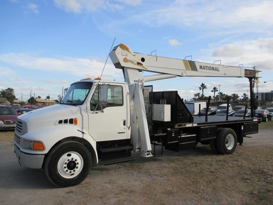 2003 Sterling Acterra Crane Truck