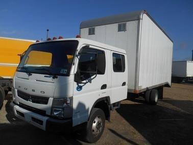 2012 Mitsubishi Fuso Canter Fe160 Utility Truck - Service Truck