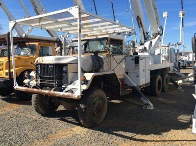 1986 Am General Military 6x6  Bucket Truck - Boom Truck