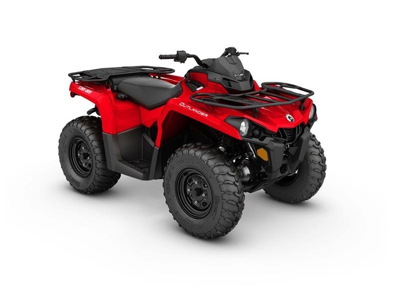 2017 Can-Am Outlander 450 Viper Red