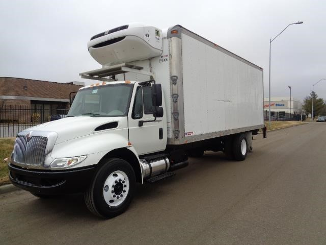 2012 International Durastar 4300m7  Refrigerated Truck