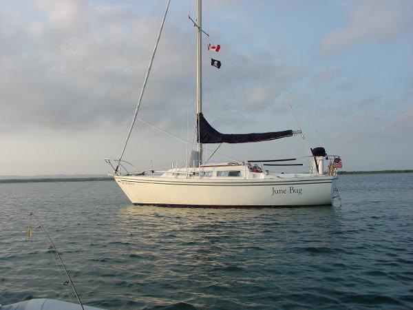 1977 Catalina 27, 1