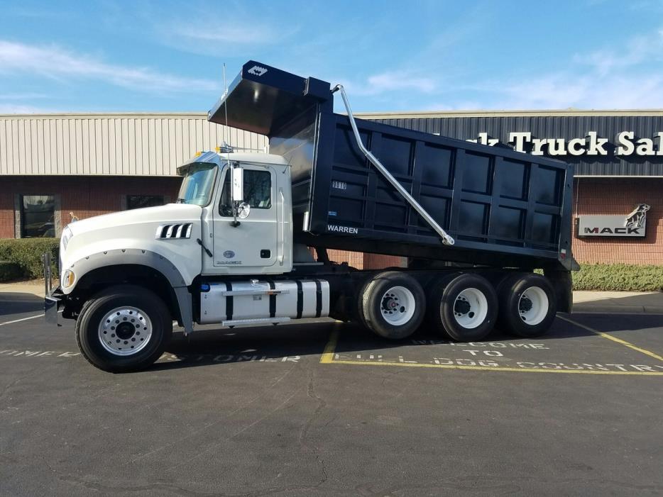 2016 Mack Granite Gu713 Dump Truck