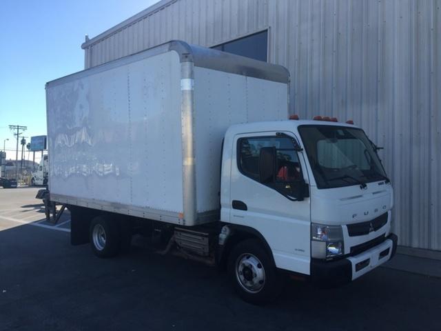 2012 Mitsubishi Fe160  Box Truck - Straight Truck