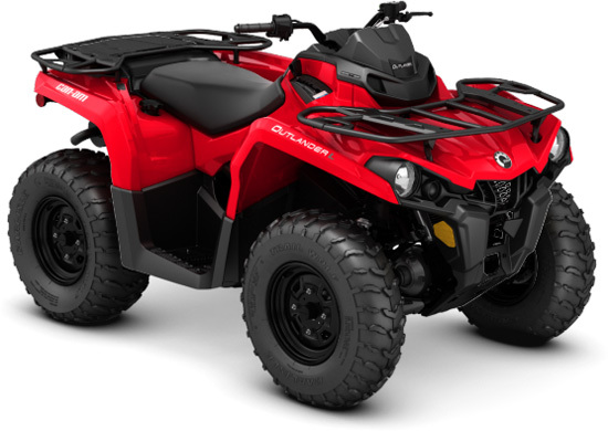 2016 Can-Am OUTLANDER L 450 RED