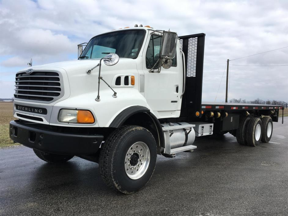 2007 Sterling Lt9500  Flatbed Dump