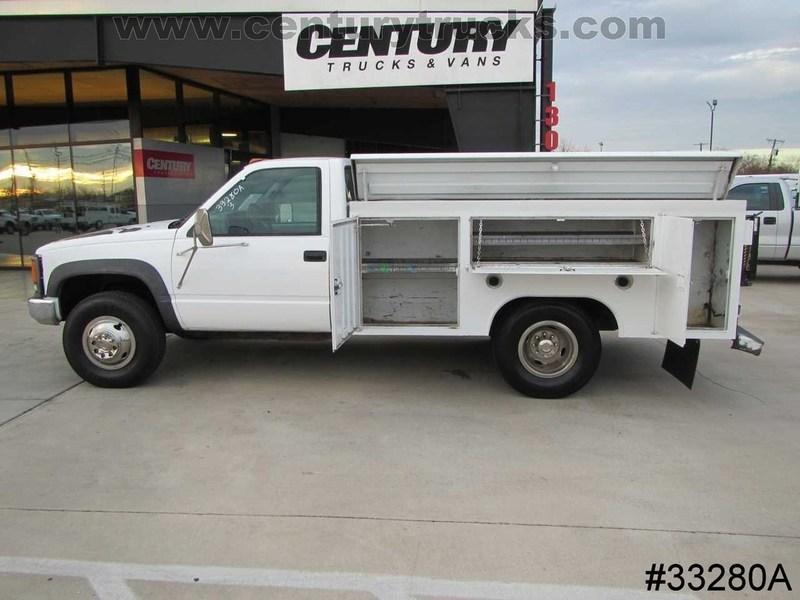 1999 Chevrolet 3500 Hd Drw 4x4 Contractor Truck