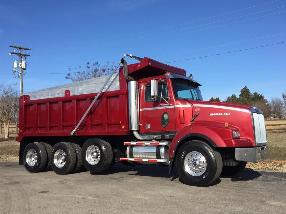 2005 Western Star 4900sa Dump Truck