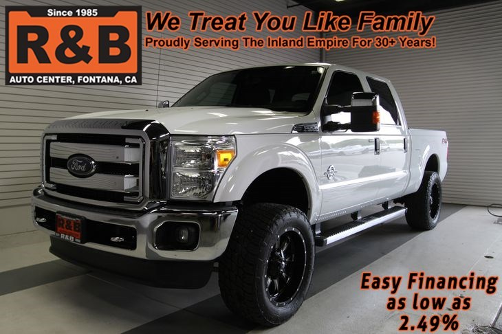 2014 Ford Super Duty F-250 Srw  Pickup Truck