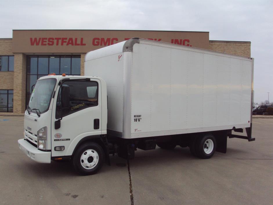 2012 Isuzu Box Truck - Straight Truck