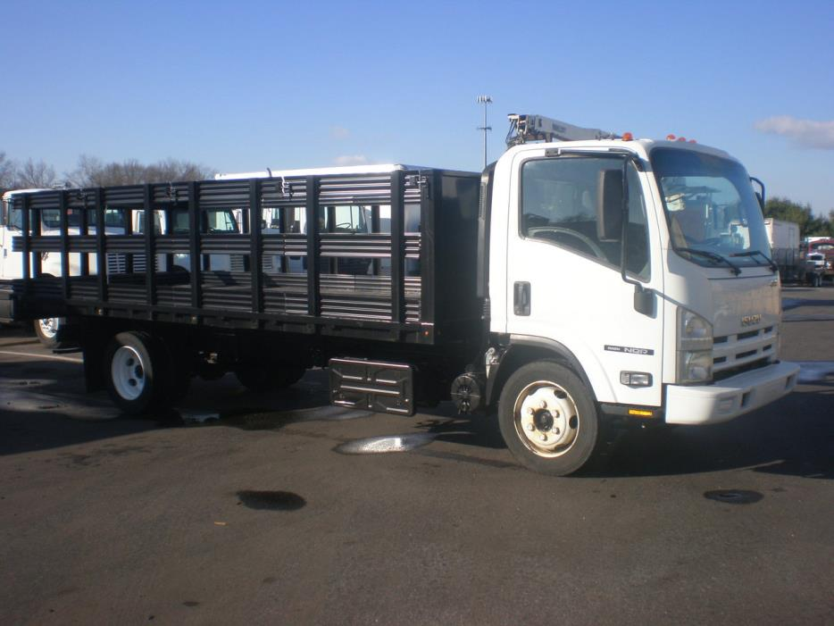 2014 Isuzu Nqr Flatbed Truck