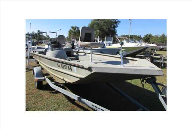 2007 Alumacraft MV 1756 AW SC, 1