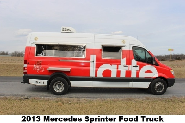2013 Mercedes-Benz Sprinter Pickup Truck