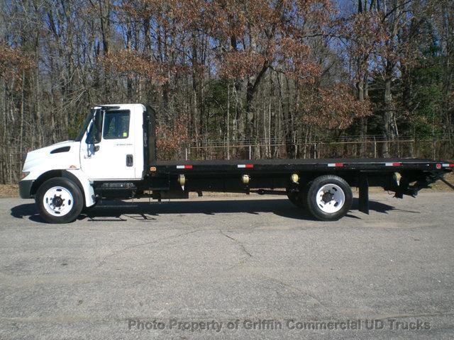 2007 International 4200 Non Cdl Long Steel Deck Just 31k Mi Flatbed Truck