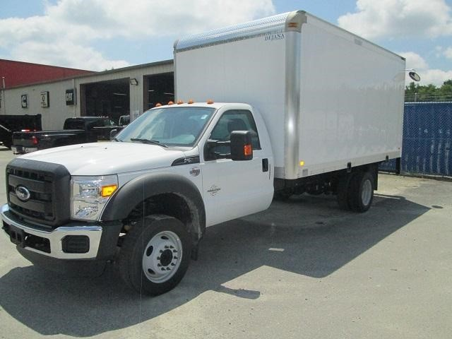 2016 Ford F550 Box Truck - Straight Truck