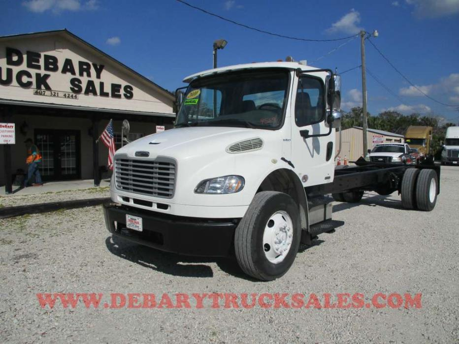 2010 Freightliner M2 Business Class Cab  And  Chassis  Box Truck - Straight Truck