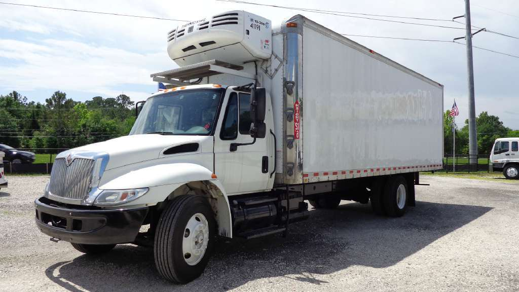 refrigerated truck for sale in florida