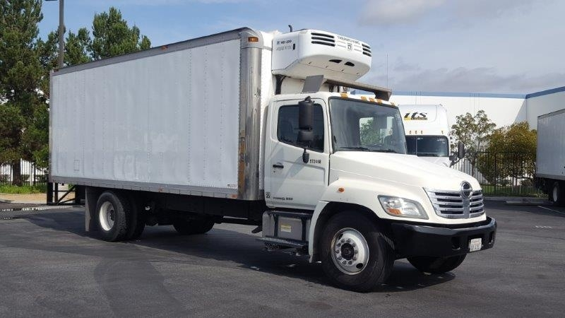 2010 Hino 268  Refrigerated Truck