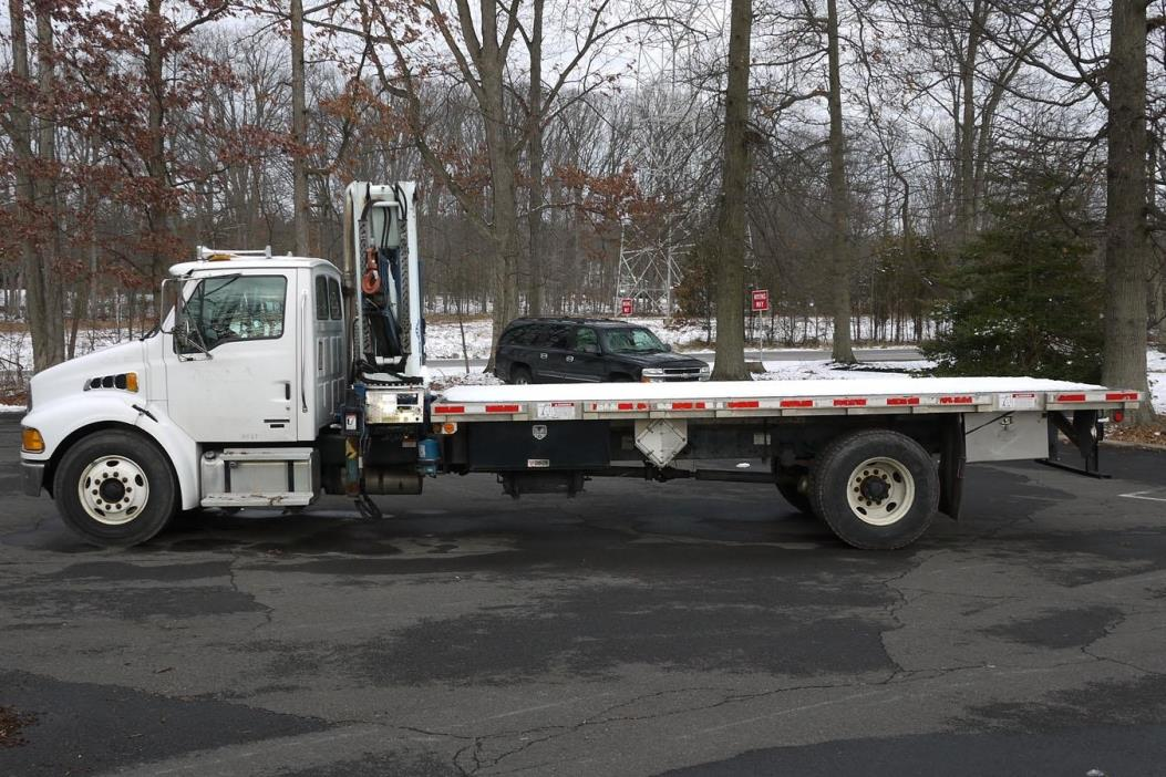 2005 Sterling Acterra Crane Truck