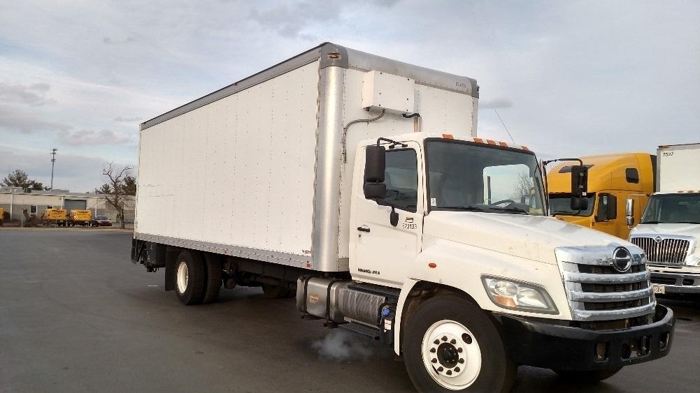 2012 Hino 268  Box Truck - Straight Truck