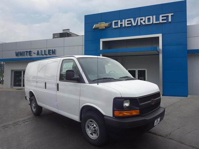 2017 Chevrolet Express Passenger Cargo Van