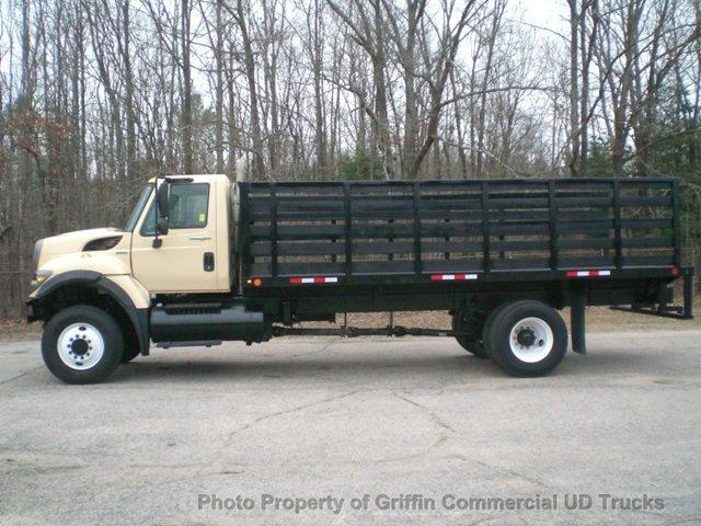 2008 International Workstar 7300 Flatbed Truck