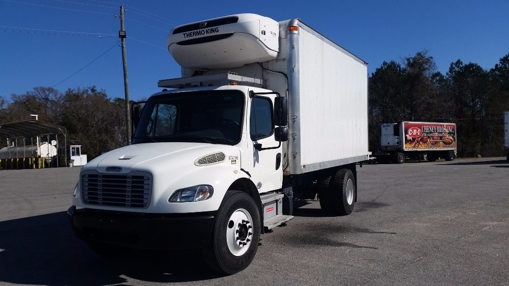 2014 Freightliner Business Class M2 106 Refrigerated Truck