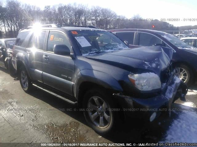 2006 Toyota 4 Runner-Rebuildable Car
