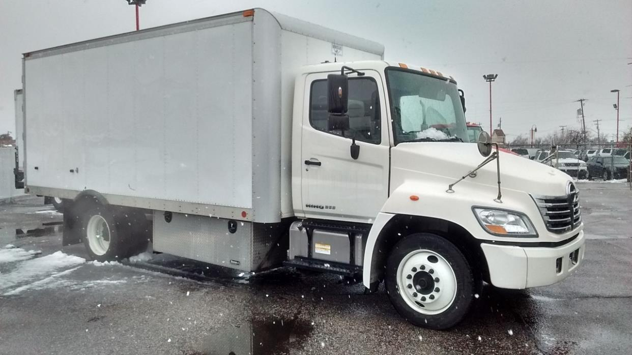 2010 Hino 268a Refrigerated Truck