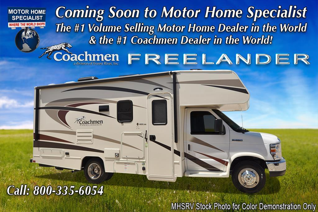 2018 Coachmen Freelander 21RS RV for Sale at MHSRV W/Ext. Kitchen & 1