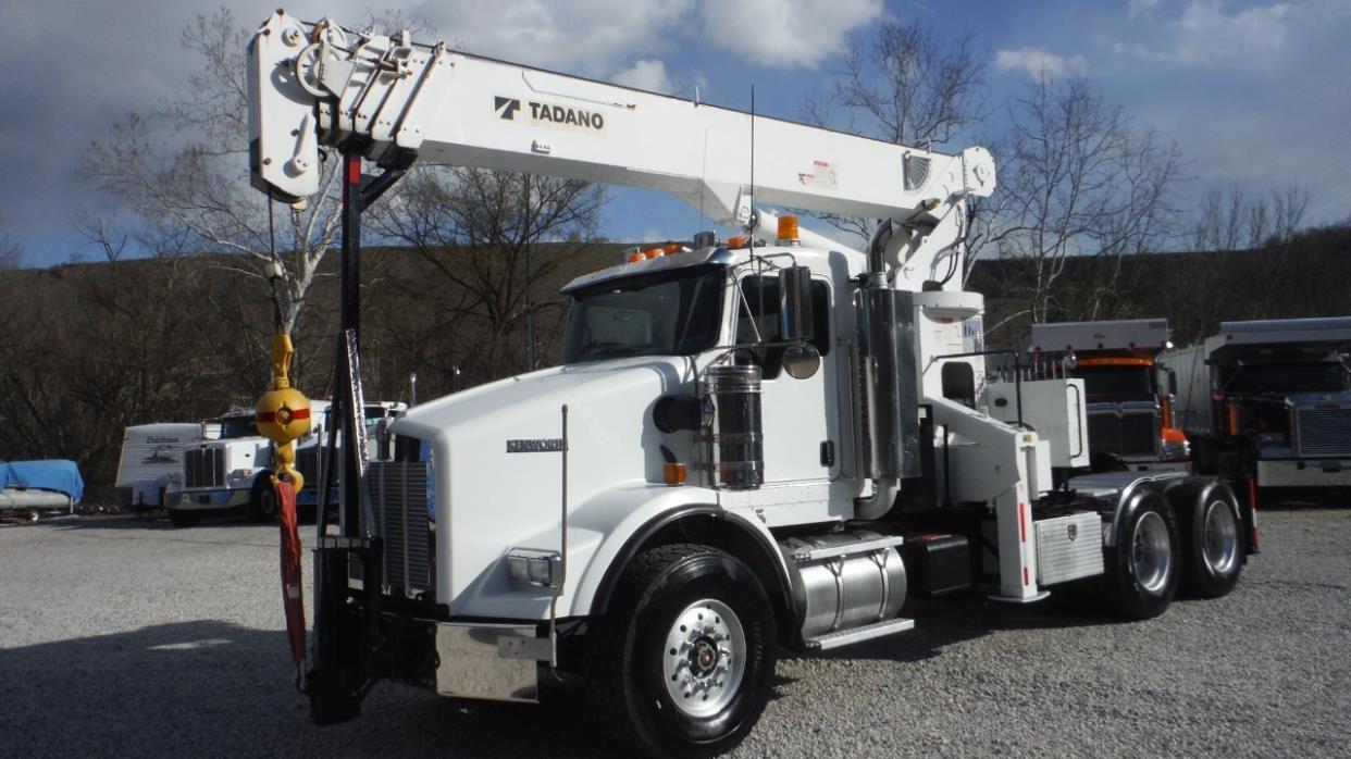 2007 Kenworth T800  Crane Truck