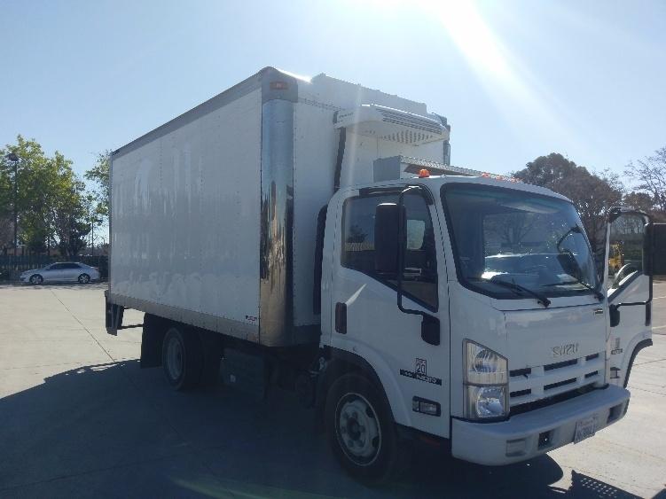 2014 Isuzu Nqr  Refrigerated Truck