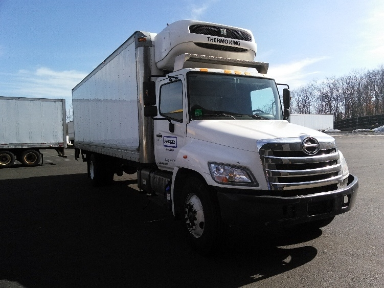 2013 Hino 268  Refrigerated Truck