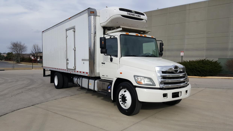 2011 Hino 338  Refrigerated Truck