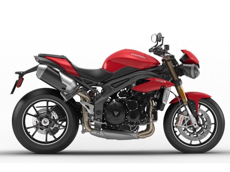 2017 Triumph Speed Triple S Diablo Red