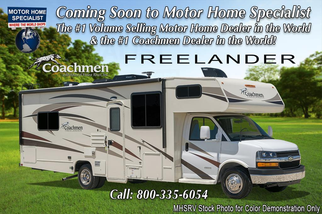 2018 Coachmen Freelander 26RS RV for Sale at MHSRV W/Ext TV, 15K BTU