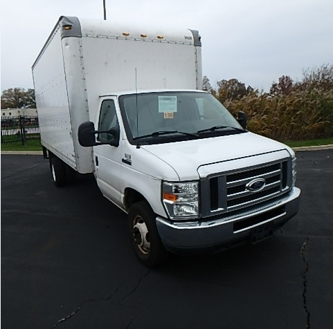 2014 Ford E450  Box Truck - Straight Truck