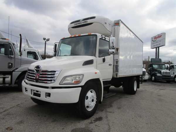 2008 Hino Hino 268  Refrigerated Truck
