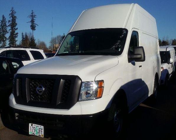 2016 Nissan Nv2500hd Cargo Van